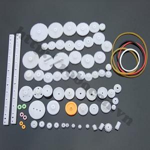 LKRB20 Pulley Bộ Bánh Răng Nhựa Robot ...