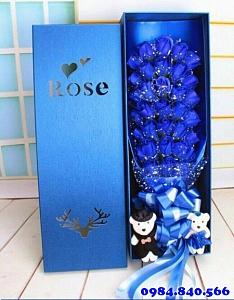Hộp hoa hồng sáp thơm 33 bông ...